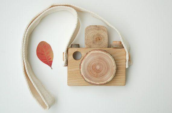 Holz-Kamera OKO / Holz Spielzeug Kamera / hölzerne Kamera