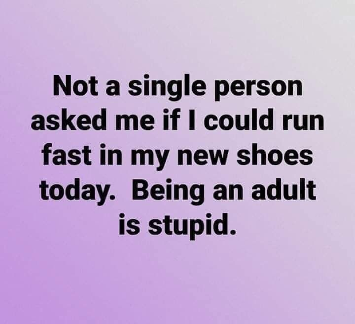 No One Ever Asked Me If I Can Run Fast Anymore Funny Quotes Funny Haha Funny