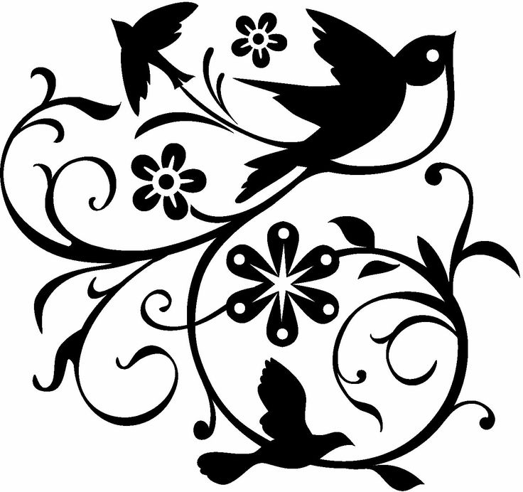 Flowers Made Black Brids: 1000+ Images About SVG Files On Pinterest