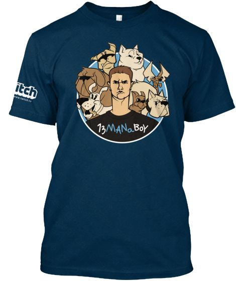 Limited Edition Puppey 13ManaBoy T-Shirt   Teespring