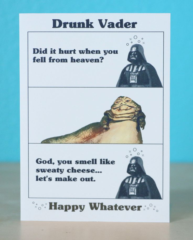 Star Wars Darth Vader Birthday card any occasion anniversary - Star Wars - Geek birthday card - awesome by comradecards on Etsy https://www.etsy.com/listing/194003335/star-wars-darth-vader-birthday-card-any