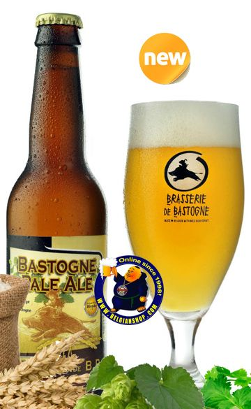 Bastogne Pale Ale 6°  Available at http://store.belgianshop.com/special-beers/1620-bastogne-pale-ale-6-13l.html Pours a pale and hazy yellow color forming a medium and low persistent aired white head. Nice carbonation and full white head. Nice hoppy fruity, pinaple aroma. Tasty hop notes with light citrus tints, crispy, some grapefruit sweetness, fresh cut grass, light bitterness. Well balanced and a tasty surprise of the evening. Aftertate is hoppy, citrus, grass and some malts. Low to…