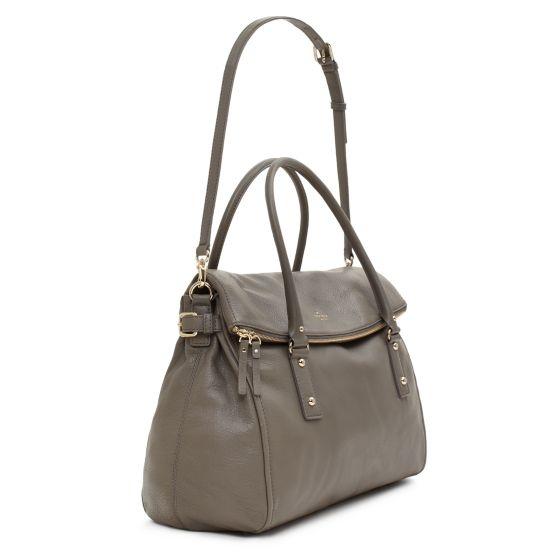 Kate Spade: gorgeous gray handbag