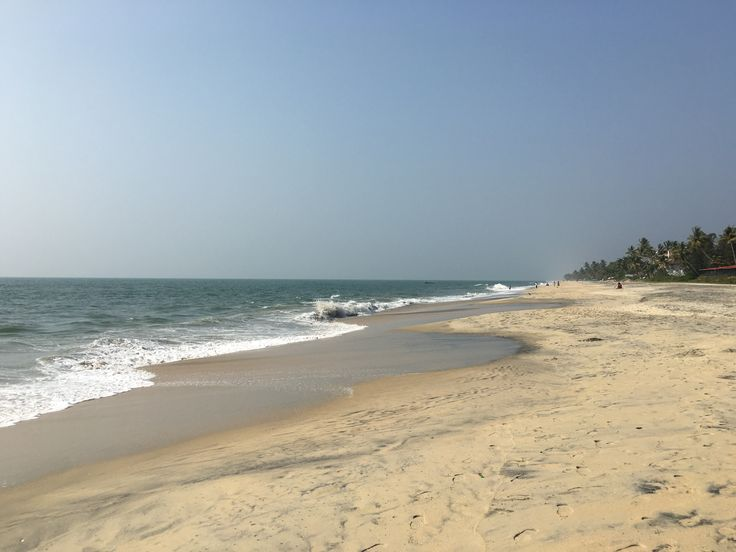 Beach in the city of Allepey, Kerala.  For India travel tips http://ajourneyintotheunknown.com/category/india/