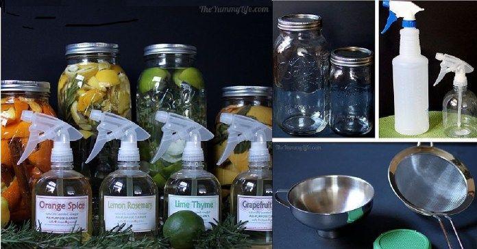 4 kouzelné tipy na domácí čistící prostředky s přírodními vůněmi