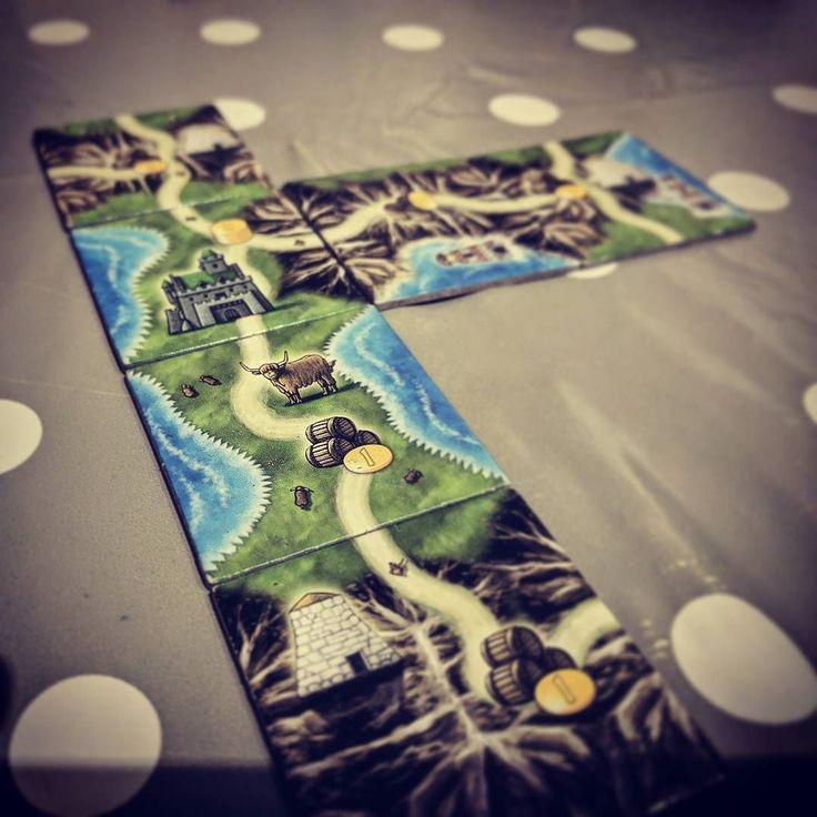 Great game of Isle of Skye is underway! #boardgamegeek #geek #boardGames #isleOfSkye
