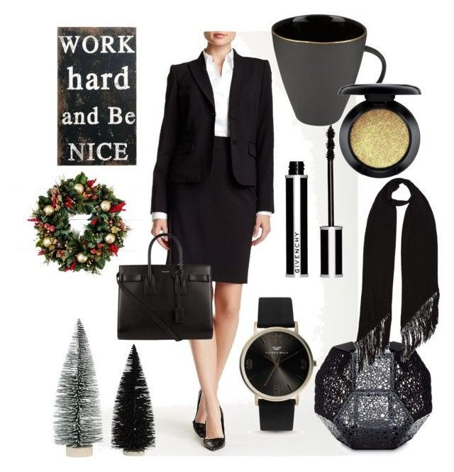 black tea by ioana-constantin-1 on Polyvore featuring Yves Saint Laurent, Rockins, Givenchy, MAC Cosmetics, Tom Dixon, Home Decorators Collection and Canvas Home