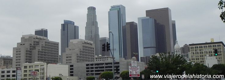 imagen del centro de Los Ángeles