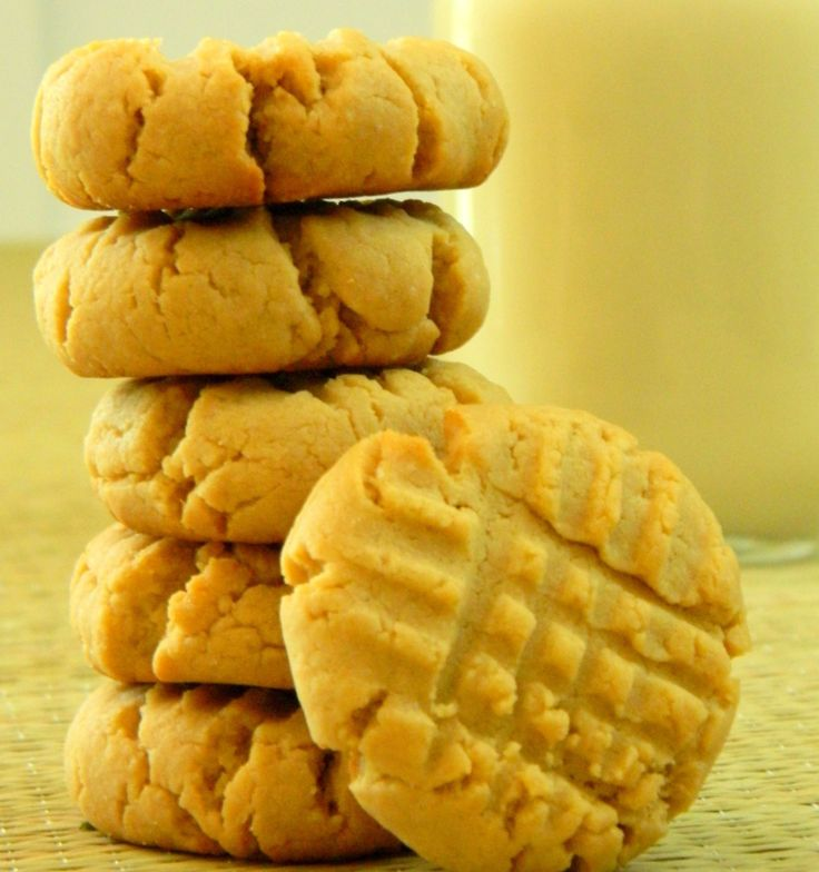 Sugar Free Cookie Recipes - Classic Peanut Butter Cookies