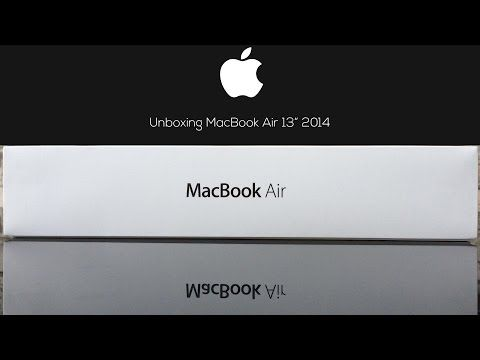 "Unboxing del MacBook Air 13 pulgadas de 2014 (MacBook Air 13"" Early 2014) de Apple."
