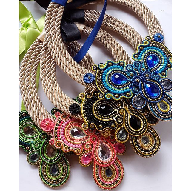 originali collane soutache