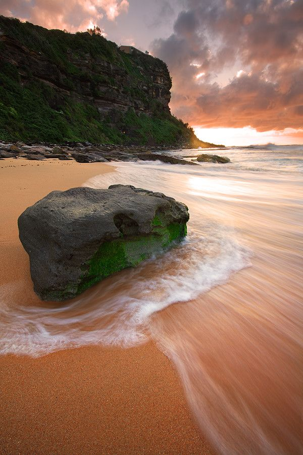 Bungan Beach, Sydney New South Wales, Australia
