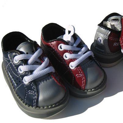 You're never too young to #GoBowling! #bowling #kids #shoes #fun #cute