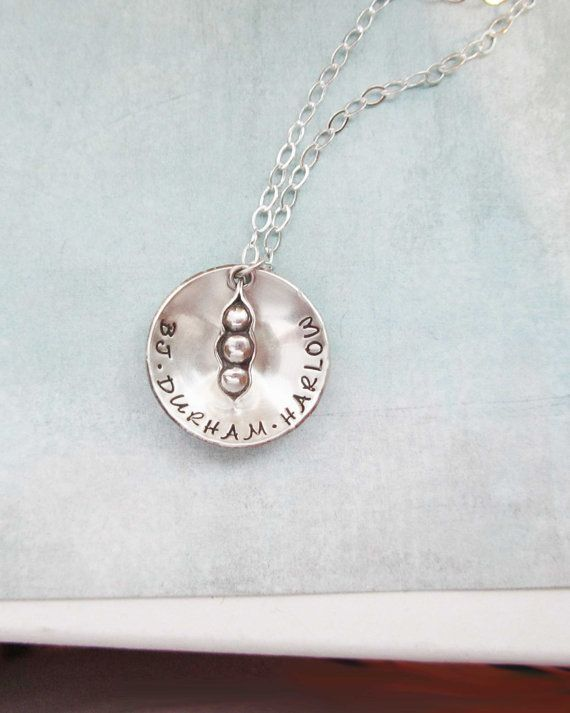 87 best custom sterling silver necklaces images on pinterest peas in a pod sterling silver pendant mothers necklace baby name necklace custom necklace personalized necklace wife sister best friend aloadofball Image collections
