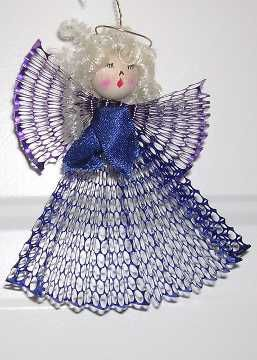 Compartilhe suas Artesanato para Adultos - Ótimo para Idosos!Christmas Time, Angel Crafts, Blue Foil, Foil Angels, Angels Ornaments, Easy Crafts, Angels Crafts, Diy Angels, Crafts Stores