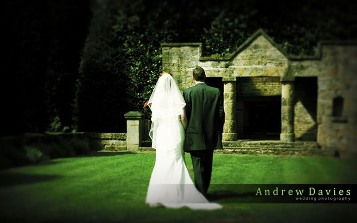 redworth hall wedding photo