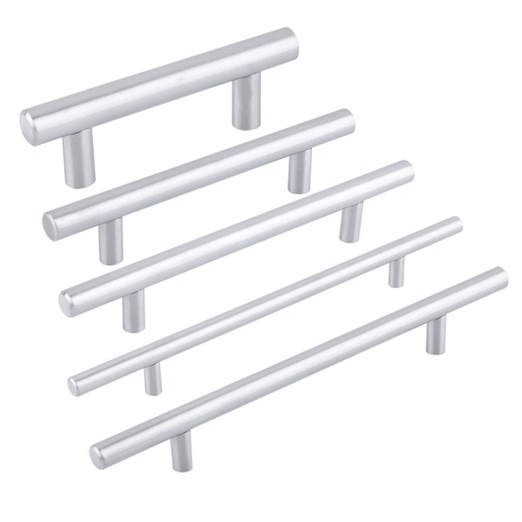 Probrico Diameter 12mm Hole Cebter 64mm~300mm Stainless Steel Kitchen Cabinet Door T Bar Knob Furniture Drawer Handles Pulls #>=#>=#>=#>=#> Click on the pin to check out discount price, color, size, shipping, etc. Save and like it!