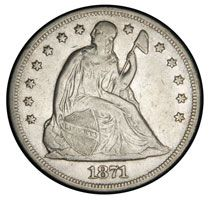 Seated Liberty Silver Dollars For Sale - American Coins Auction #seatedlibertydollar #coins