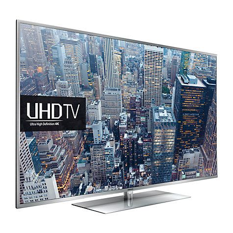 """Buy Samsung UE55JU6410  LED HDR 4K Ultra HD Smart TV, 55"""" with Freeview HD/freesat HD and Built-In Wi-Fi Online at johnlewis.com"""