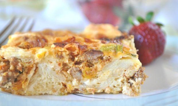 southwestern breakfast bake mexican breakfast casserole breakfast bake ...