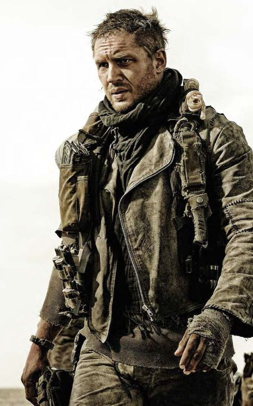 TH0040 - Mad Max: Fury Road (2015) / Tom Hardy as Max Rockatansky. In a post-apocalyptic world, in which people fight to the death, Max teams up with a mysterious woman, Furiousa, to try and survive. Stars: Tom Hardy, Charlize Theron