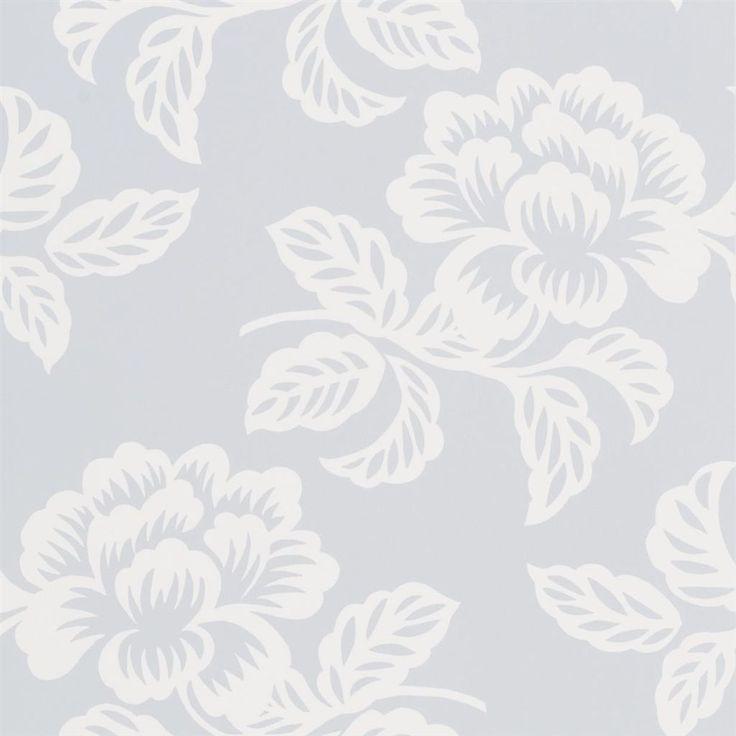 Berettino Sky Wallpaper | Designers Guild