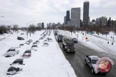 Cuaca Buruk Di Swedia Sebabkan 25 Kendaraan Mengalami Kecelakaan