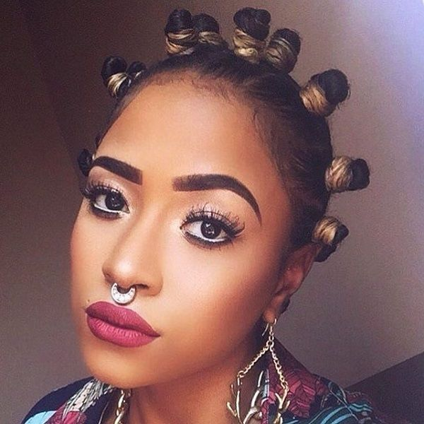 Hairstyles For Party Look : 371 best natural hair images on pinterest