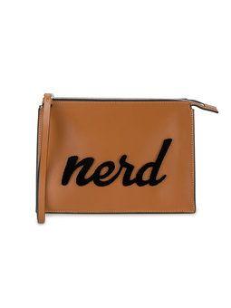 Nerd Leather Clutch