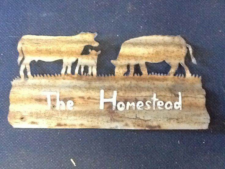Cows sign