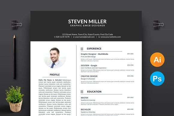 The Resume  @creativework247