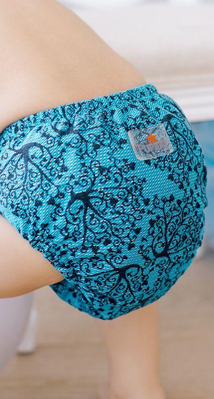 Pupidu Australain Stockist -Take Home Lay-by , Cloth nappy Jasmin in Wunderland - snap Kokadi Cloth Nappy