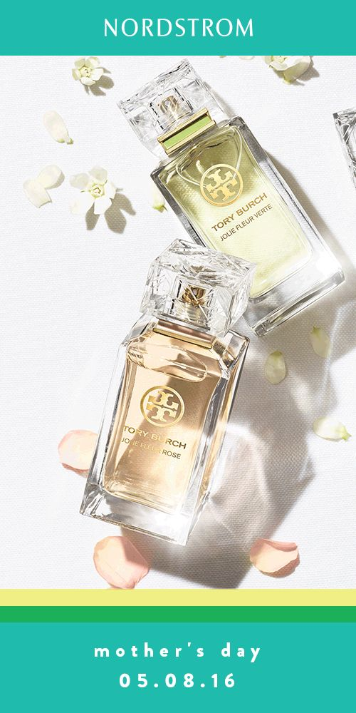 Tory Burch perfumes are the perfect gift for mom this Mother's Day.