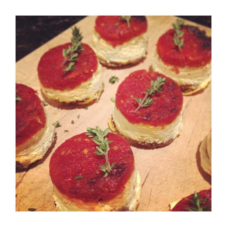 Sun dried tomatoes cheesecake  #personalchef #privatechef #bayarea #bayareabuzz #lefooding #sfeats #Frenchfood #frenchcuisine