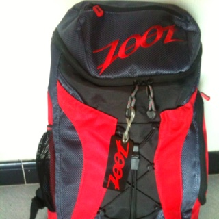 My ZOOT triathlon bag