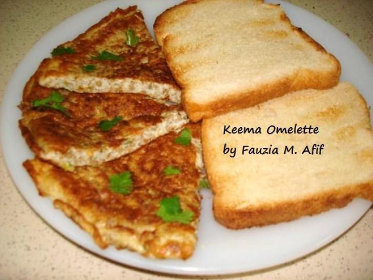Keema Omelette | Fauzia's Kitchen Fun