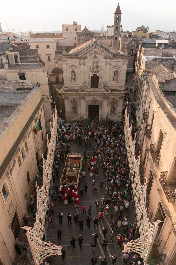 festeggiamenti per San Cataldo a Taranto. Ph by Cosimo Calabrese #AriaLuxuryApulia
