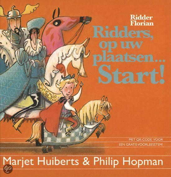 Ridders, op uw plaatsen start! - Een spotgoedkoop boekje met 3 verhalen over Ridder Florian de Bange. Past goed bij de kinderboekenweek!