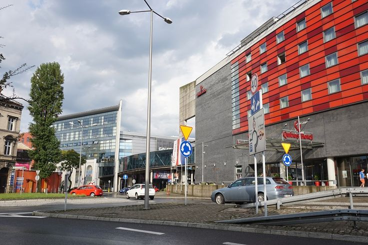 Qubus Hotel and Sfera Shopping Mall in Bielsko-Biala, Poland