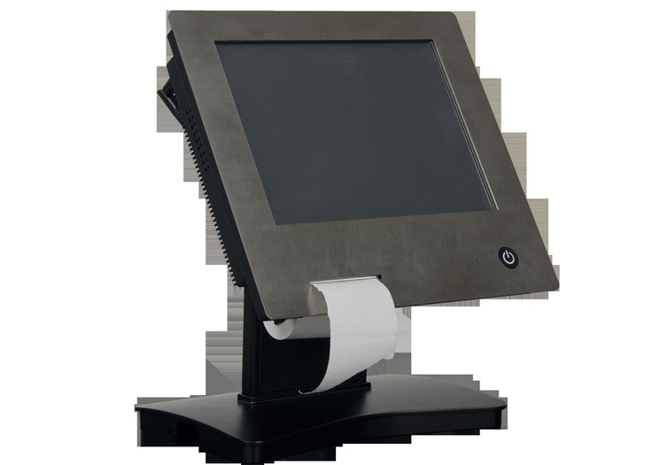 Industrial Touch PC with Printer