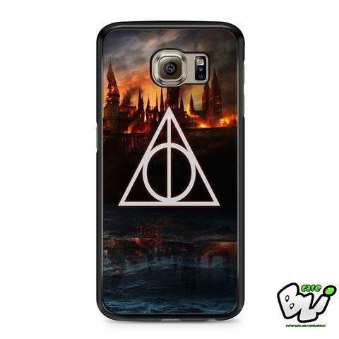 Harry Potter Deathly Hallows Samsung Galaxy S6 Case