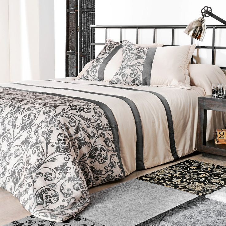 Boutis et taies d'oreiller (250 x 260 cm) Athenée Sable : choisissez parmi tous nos produits Couvre-lit, boutis