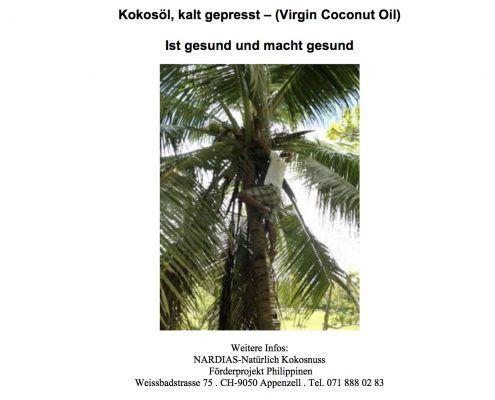Gratis Nardias Kokosöl ebook zum sofort downloaden