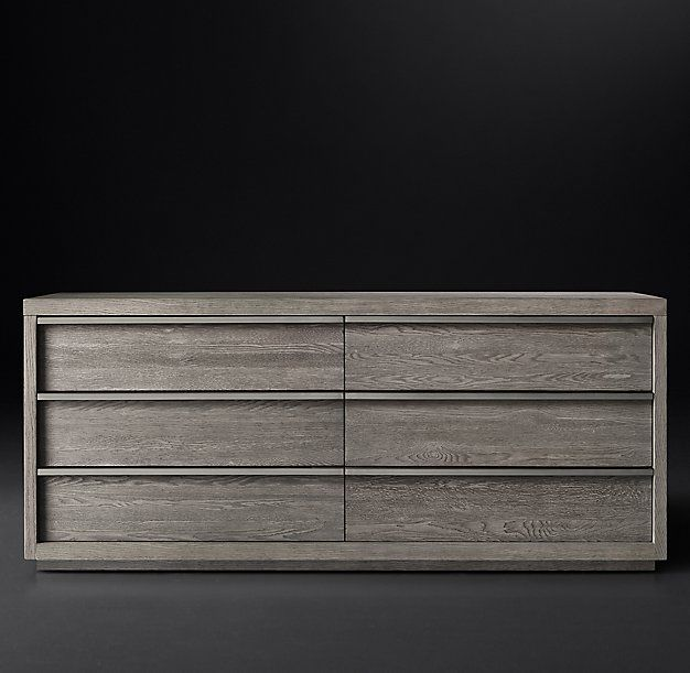 Bezier 6 Drawer Low Wide Dresser Fab Tables Casegoods Pinterest Master Bedrooms Bedroom
