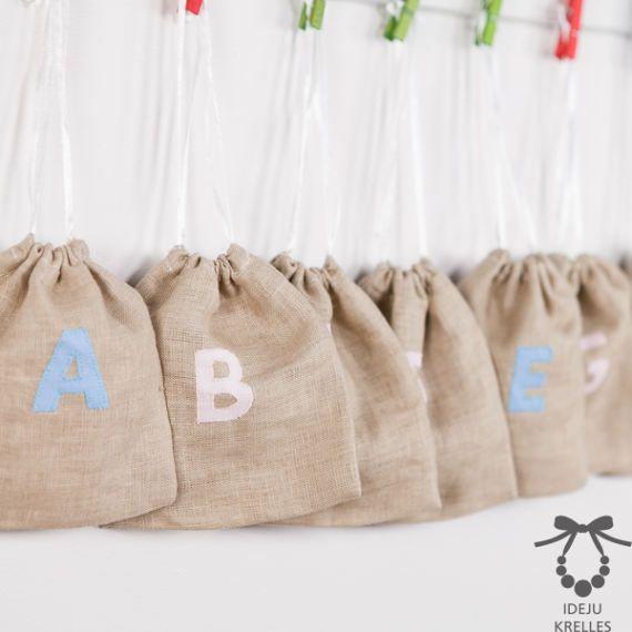 Montessori Sound Bags Montessori Language Material Alphabet