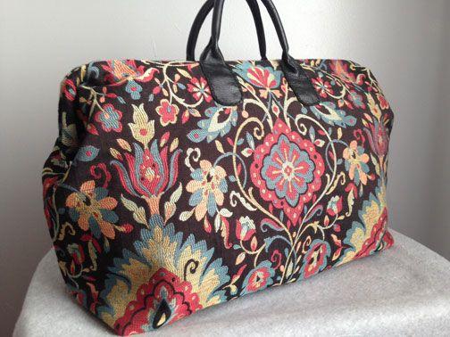 Mary Poppins carpet bag diy sewing