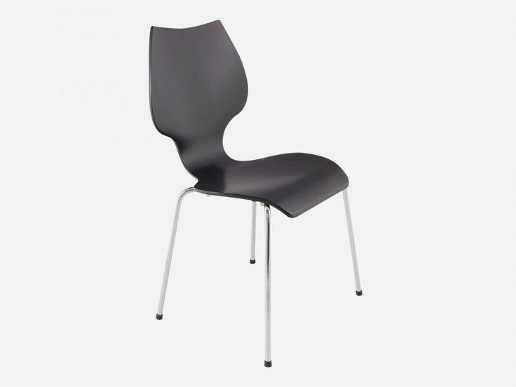 Krzesło Elipse czarne — Krzesła Kokoon Design — sfmeble.pl