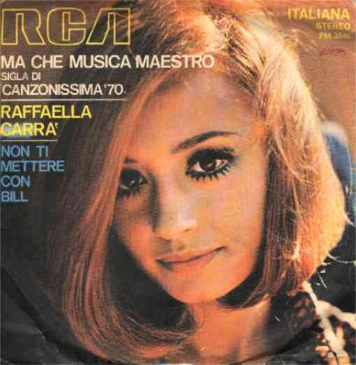 Raffaella Carrà 1970