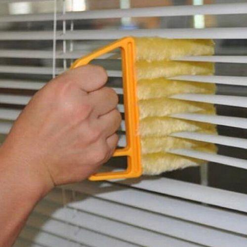 Microfiber-Venetian-Blinds-Duster-Slat-Cleaner-Dust-Clean-Clip-Brushes