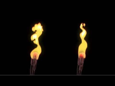 The FX Work of Barak Drori - Torch Flamme Render